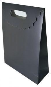 siyah mat hediyelik karton çanta