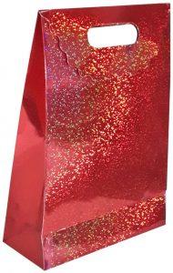 hediyelik kırmızı karton çanta